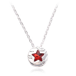 Супер героя онлайн-Новое Прибытие Личность Мстители Ожерелье Super Hero Капитан Америка Логотип Щит Ожерелье Ювелирные Изделия