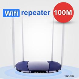 2019 antenas sem fio Wifi de alta velocidade 100M fibra 300Mbps Wireless Wifi Router um clique realce alto ganho 4 antena desconto antenas sem fio