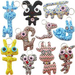 детские игрушки из турции Скидка Корейский моды хлопка куклы милые Чучела животных кулон 10-14cm ручной мультфильм Плюшевые брелки подвеска Плюшевые игрушки детские