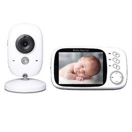 câmera de segurança de vigilância de cor Desconto Monitor de Vídeo Sem Fio Cor Do Bebê 3.2 polegadas Lcd 2 Way Áudio Falar de Visão Noturna de Vigilância Câmera de Segurança do sono Nanny