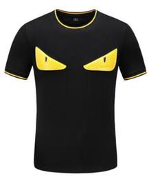 6 modelli più eye's lastest fashion manica corta ricamo t-shirts magliette uomo tshirtscool magliette uomo con tag M-3XL da
