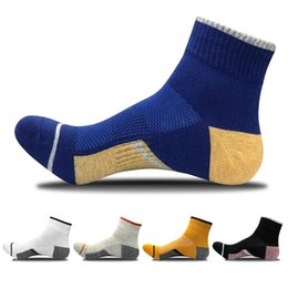 0764f3d32 New Ankle-high Sport Socks 09 For Men Athletic Running Bicycling Calcetines  Socken Sweat Absorbent sweat socks on sale