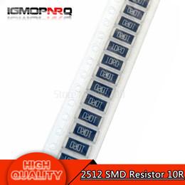 50PCS 2512 SMD Resistor 1% 10 ohm 1W 10R de
