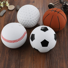 bolas de golfe futebol Desconto 2019 popular novo cassa bluetooth speaker sem fio Estilo Esportes Basquete De Beisebol Bola De Golfe De Futebol Em Forma de Design Inovador altavoz mini BT
