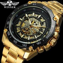 GANADOR relogio masculino Hombres Reloj de Primeras Marcas de Lujo Deporte Reloj Automático Mecánico Reloj de Moda de Acero Esqueleto Masculino Reloj 0637 desde fabricantes