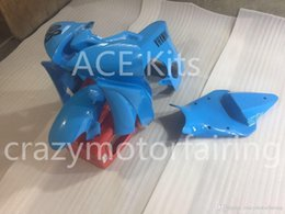 Corse da corsa yamaha r6 online-3 regali Nuovo Kit iniezione carena ABS 100% per YAMAHA YZFR6 08-15 YZF R6 2008-2015 YZF600 Modelli carenatura racing blu 98