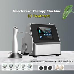 2019 macchina di terapia con onde d'urto Trattamento ED Acoustic Shock Wave Zimmer Shockwave Terapia ad onde d'urto Funzione Dolore per la disfunzione erettile sconti macchina di terapia con onde d'urto