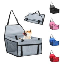 Seggiolino auto per animali domestici impermeabile Pet traspirante Pet Dog Cat Travel Carrier Bag Basket Dog Cat Supplies Prodotti per animali domestici da cagnolino fornitori