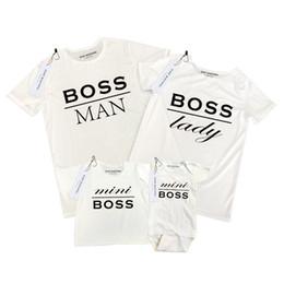 Canada Mode T-shirt d'été pour parents et enfants Vêtements Impression de lettres et vêtements Sous-vêtements à manches courtes T-shirt Offre