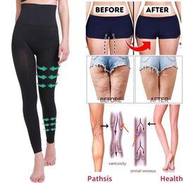 2019 leggings bodysuits Hohe Taille Anti Cellulite Compression Leggings Bein Shapewear Body Shaper Oberschenkel Schlanker Abnehmen Bauch Kontrolle Fitness Höschen rabatt leggings bodysuits