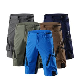 Pantalones cortos para deportes al aire libre Ciclismo elástico Camping Ciclismo de montaña Uniforme de secado rápido Pantalones para caminar Diseñador Pantalones cortos para montañismo desde fabricantes