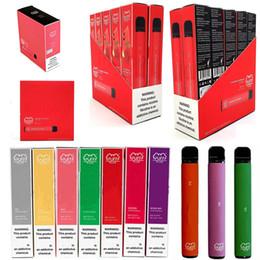 Güvenlik Kodu 550mAh Pil 2.3ml Puffbar Vape Bar ile Yeni Puff ek tek Pod Cihazı 8 Renkler Tek E-çiğ PUFF BAR Boş kalemler nereden puro mods tedarikçiler