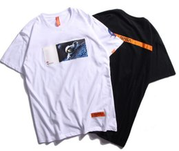 e6bd55360 Heron Preston X NASA lovers shirts man women casual t-shirt short sleeves  men's women's fashion moonfall coat clothes tees outwear tee top supplier t  shirts ...