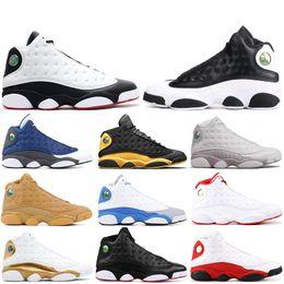 online retailer e1317 e5bc9 13 13s Mens Basketball-Schuhe Phantom Chicago Hyper Royal Schwarze Katze  Flints Bred Brown Olive Wheat DMP Elfenbeingrau Herren Sport Sneakers 7-13