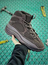 b6a961641 Hombres Kanye Season 6 Desert Rat Boot 2019 Moda Triple Black West  Zapatillas deportivas para correr Zapatillas deportivas botas negras del  desierto de los ...