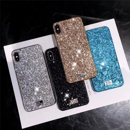 Rhinestone luxuoso do caso do iphone on-line-Premium bling swan luxo diamante strass glitter telefone case para iphone xr xs max x 8 7 6 xsmax xr covers