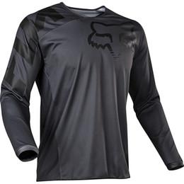 Футболки с длинным рукавом онлайн-2020 Спортивные футболки Человек Promotion Велоспорт серии Джерси велосипедов Одежда с длинным рукавом Спортивные Мотоцикл Велосипед внедорожной Fox TLD футболкой