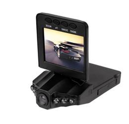 """Sistema de grabadora de video online-H198F Grabadores 2.5 """"Car Dash Cams Sistema DVR Recorder Camera System Black Box Night Version Video Recorder dash Camera 6 IR LED Más barato"""