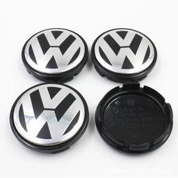 56MM 65MM Ruedas de centro de rueda de coche Cubiertas Llantas Para Volkswagen Vw Passat B6 B7 Golf 5 7 Polo T4 T5 Touran Tiguan desde fabricantes