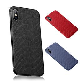 Iphone coccodrillo online-Custodia per telefono con motivo a coccodrillo per iPhone XS Max XR X 8 7 6S Plus Custodia morbida in TPU Custodia posteriore in metallo