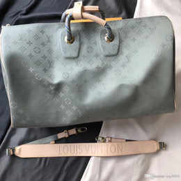 Sacola de ombro individual on-line-Homens e mulheres geral ombro único straddle bag, grande saco de compras, produção de couro, couro único saco de ombro M43886