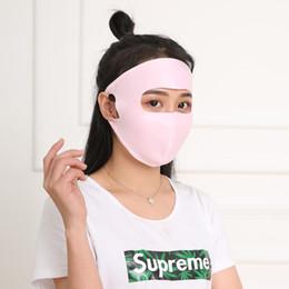 masque de glace Promotion Sports d'été Masque solaire Masque Femme Full Face Filtre À Glace Vélo Respirant Masque Vélo Électrique Vent Poussière En Plein Air Équipement Mâle