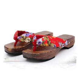 2019 madeira de sandália 2018 chinelos mulheres verão sapatos de plataforma de madeira sandálias das mulheres entupir chinelos de madeira flip flops 4.9 madeira de sandália barato