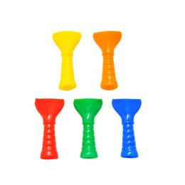 Kunststoff zigarettenspitzen online-Shisha Shisha Test Finger flach Tropfspitze Kappe Abdeckung Kunststoff Einweg Entenschnabel Zigarettenspitze Mundstück Mundspitzen für E-Shisha Pipe
