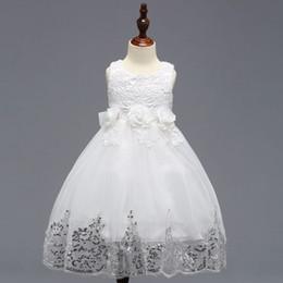 Sweety meninas Lace vestido de baile para o florista da festa de casamento Feito à Mão vestido Crianças Chirdren Vestidos de Fornecedores de lavanda alto baixo alto