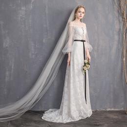 jenny packham vestidos de noiva backless Desconto O novo vestido leve da noiva se casou com uma palavra ombro na Europa e o contratado mostra cauda fina