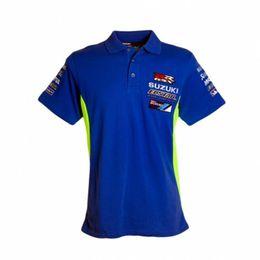 2019 equipo de polo 2018 Moto GP Camiseta de algodón para el equipo Ecstar Motocicleta Deporte Equitación GRX Polo para hombre Camisetas RR GRX Ropa de carreras equipo de polo baratos