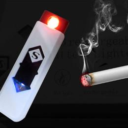 Mini USB tactile tactile interrupteur allume-cigare briquets USB briquets coupe-vent sans flamme rechargeable électronique léger pour SmokingWindpro ? partir de fabricateur