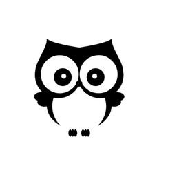 Coruja appliques on-line-Proteção animal Etiqueta Do Carro Com Pássaro Coruja Pássaro Comida Vinil Adesivo Decorativo Padrão Applique Corpo