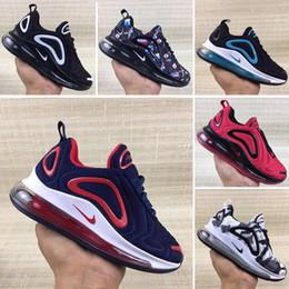 Zapatos de niños grandes online-Nike air max 720 Hyper space Niños Zapatillas de running Clay Kanye West Zapatillas de deporte de moda para niños pequeños grandes niña niño Zapatillas para niños