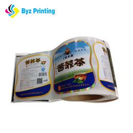 Adesivos para embalagens de alimentos on-line-O costume imprimiu a etiqueta autoadesiva do empacotamento de alimento, etiqueta impermeável do alimento