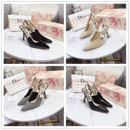 2020Shoes Dior туфли на высоком каблуке ткань обувь женщины мужчины Дизайн папа обувь Мода удобная классический Кашемир26 от Поставщики оптовый меховой воротник