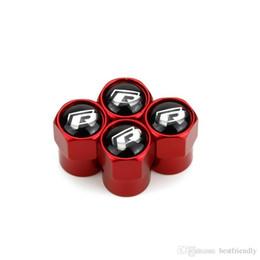 Металлические клапаны для шин Rline Red Typer Mini с металлическим корпусом Крышки от пыли для шин Крышки для эмблемы автомобилей MT Значки на клапанах шин общего назначения Крышка автомобильных клапанов от