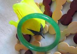 echte smaragde Rabatt Los Schmuck Edler Damenschmuck grünes Jade Armband mit einem Zertifikat echte natürliche grüne Jade Smaragd Armbänder