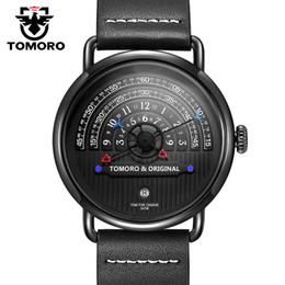 2019 relojes tácticos Tomoro Original 2018 Most Creative Tactical Unique Hour Diseñador de Lectura Reloj Hombre Hombres Relojes Casual Hombre Reloj de Cuarzo Reloj Y19052103 rebajas relojes tácticos