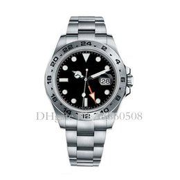 Швейцарские мужские роскошные автоматические механические часы Top Explorer GMT спортивные часы для мужчин Montre de luxe supplier mechanical swiss watch men от Поставщики механические швейцарские наручные часы