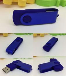 unidades flash de regalo Rebajas Hot 2019 Promoción pendrive 64 GB 128 GB 256 GB para USB Flash Drive regalo buena nueva U Disco de estilo rotativo en memoria con Fedex