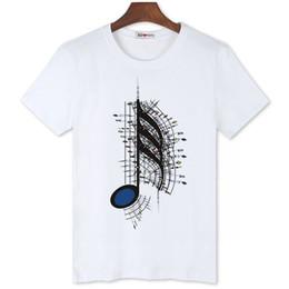 all'ingrosso amore musica d'arte stampa magliette calde per gli uomini brand new personalità della moda designer camicie a buon mercato da