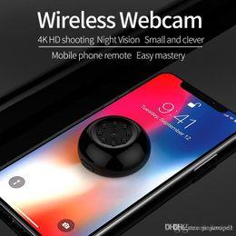 2019 verdeckte mini-kamera 1080P Fernkamera Mikroüberwachungskamera Handy Fernbabybetreuer Babysitter Überwachungskamera