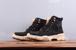Mensentwerfer Luxus Stiefel Holz tba Land lol alistar Leder Wildleder chaussures schwarz Aprikose Freizeit Sneaker Casual Stiefel Herren Sportschuhe