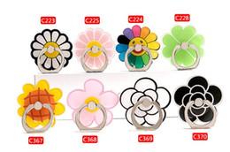 Evrensel yeni cep telefonu Halka toka tutucu karikatür küçük taze çiçek yüzük toka cep telefonu tutucu toptan cheap wholesale fresh flowers nereden toptan taze çiçekler tedarikçiler