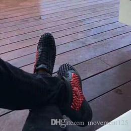 Rote unterleopard-turnschuhe online-Perfekte Turnschuhe Schuhe Männer, Frauen Leopard Strass Leder Casual Party Designer Schnüren Red Bottom Sneakers Berühmte Casual Walking EU35-46
