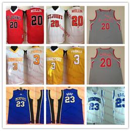 Baloncesto de tormenta online-NCAA # 20 Chris Mullin Jersey de baloncesto St. Johns Red Storm Candace Parker Voluntarios de Tennessee Jersey Derrick Rose Memphis Tigers Jersey