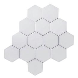 2019 apliques de parede rústica Quantum Lamp Led Hexagonal Lâmpadas Modular Imprensa Iluminação Sensitive Night Light Magnetic hexágonos criativa decoração da parede Lampara