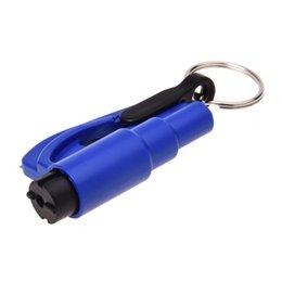 portachiavi mini martello Sconti Mini auto martello di sicurezza salvavita salvataggio martello finestrino portachiavi auto Rompi vetri di emergenza rotto
