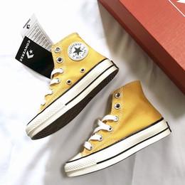 Tamaño de la UE 23-36 Nueva marca para niños zapatos de lona de moda de alta - top zapatillas de deporte casuales niños niñas zapatos deportivos de lona Zapatos para niños chaussures enfant desde fabricantes
